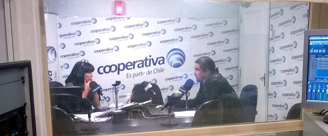 Dr. Manuel Fuenzalida es entrevistado en Radio Cooperativa