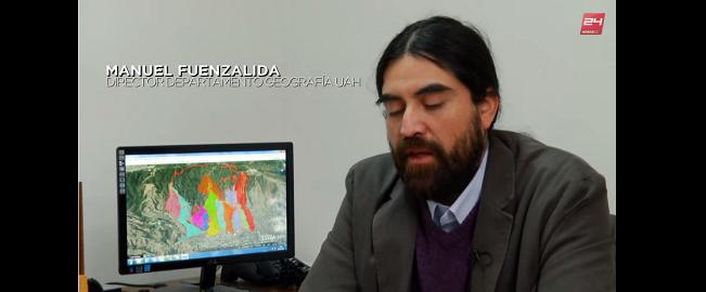 Dr. Manuel Fuenzalida es entrevistado por TVN en reportaje sobre Zonas de Riesgo en Valparaíso