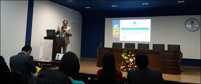 """Dr. Manuel Fuenzalida participa en la """"XVI CONFIBSIG"""", Cuenca, Ecuador."""